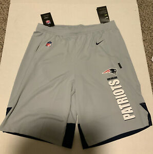Men's Nike New England Patriots Player Knit Dry Shorts Men's Size: XL NWT