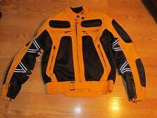 Triumph Motorcycle jacket ladies SMALL padded shoulders and elbows