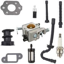 Carburetor Stihl 021 023 025 MS210 MS230 MS250 Carb Intake Hose Spark Kit Set