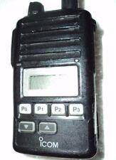 BROKEN - Icom F50V VHF portable radio narrow fire pager MURS  - Parts Radio