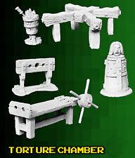 Reaper Miniatures - Bones 3 Kickstarter - Torture Chamber