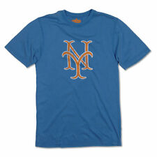 New York Mets Vintage NY Logo T-Shirt By Red Jacket