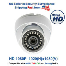 1080p CCTV Security Camera HD TVI CVI AHD Night Vision Outdoor Indoor