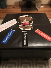SUPREME MILITARY CAMP CAP BROWN SS17 2017 100% authentic hypebeast rare waffle