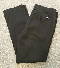 GANT SOHO BROWN CHINO TROUSERS LOW WAIST NARROW FIT 35 W ( SUIT 34 ) 32 L
