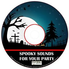 SPOOKY HORROR SCARY PARTY SOUND ON CD(MD307) ✅
