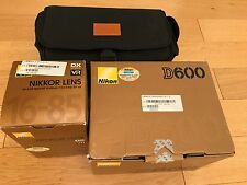 Nikon D D600 24.3MP Digital SLR Camera with Nikkor 16-85mm f/3.5-5.6G ED VR Lens