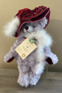 HERMANN TEDDY BEAR RED HAT BEAR LIMITED EDITION 152/250 WITH TAGS