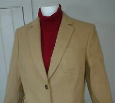 Brooks Brothers Women's Ing Loro Piana ItalyCamel Hair Blazer Jacket  SZ 12