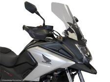 Honda NC750X 16 18 Flip Touring Windshield Shield Gray 500mm - Powerbronze C