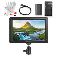 "FEELWORLD F7 7"" 1920x1200 4K Input/ Output Monitor +Cable +Charger +Battery kit"
