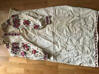 Vintage embroidered shirt ukrainian. Very rare. 100 years old