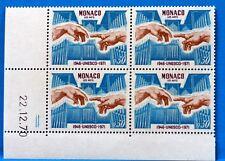 COLECCIÓN DE 4 SELLOS MÓNACO Nº 855 UNESCO NUEVA MNH BD63