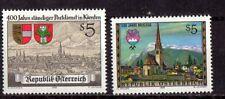 Austria - Scott #1435-6 - Fmnh - 1988