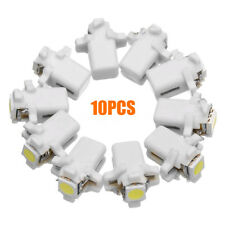 10x T5 B8.3D 5050 SMD Car LED Dashboard Dash Gauge Instrument Light Bulb White