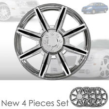 New 16 inch ABS Chrome Hubcaps Wheel Rim Covers Hubcaps Set 541 For Nissan
