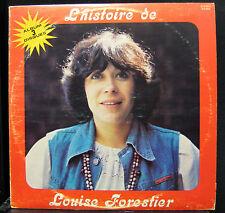 Louise Forestier - L'Histoire De Louise Forestier 3x LP VG+ G3 602 Vinyl Record