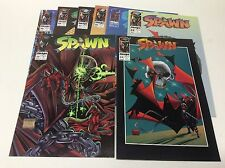 SPAWN #22-29 (IMAGE/TODD MCFARLANE/GREG CAPULLO/0217198) COMPLETE SET LOT OF 8