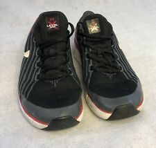 Kids 5.5Y Under Armour Level X Series Black Red White