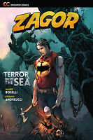 Zagor: Terror from the Sea (2015 Paperback), GN, Boselli, Andreucci, Rubini