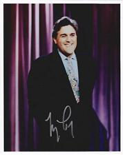 JAY LENO AUTOGRAPHED 8X10 COLOR PHOTO  (FREE SHIPPING) *