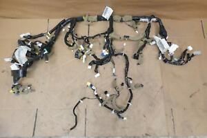 2013 INFINITI G37 DASHBOARD INSTRUMENT PANEL WIRING HARNESS 24010-3LW0D OEM