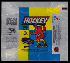 1983-84 OPC O-PEE-CHEE HOCKEY WAX PACK WRAPPER SCOTT STEVENS RC SUCTION CUP AD