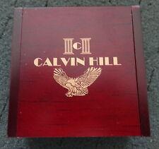 ENAMELED EAGLE POCKET WATCH  CALVIN HILL