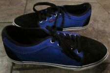 Vans Low Chukka Skate Shoes Black Purple Size 11 EUC
