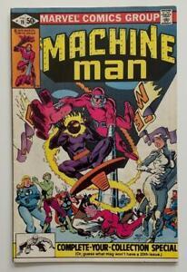 Machine Man #19 1st Appearance Jack O'Lantern (Marvel 1981) FN/VF Bronze age