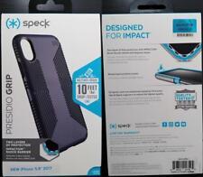 New Original Genuine Speck Presidio Grip Gray Case Cover for iPhone X iPhone 10