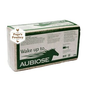 Aubiose Animal Natural Hemp Bedding 20kg Horse Hens Chickens *Next Day Delivery*