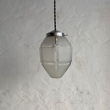 ANCIENNE LAMPE SUSPENSION ART-DECO  Old FRENCH Lamp
