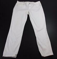 *GAP* SIZE 32 (8/10) WOMEN'S WHITE LEGGING JEANS