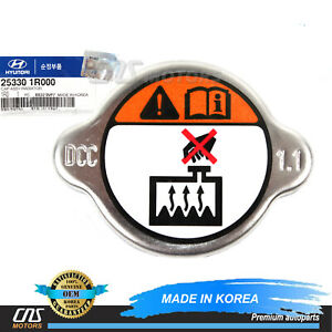 GENUINE RADIATOR CAP for 2012-2017 HYUNDAI ACCENT VELOSTER OEM 253301R000