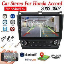 10.1 inch Android 8.1 Car Stereo Radio GPS WIFI MP5 For Honda Accord 2003-2007