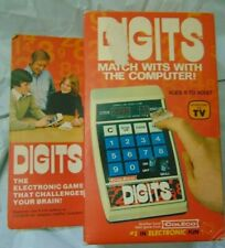 VTG COLECO DIGITS - 1979 - Computer Game - New in Box, Never Used