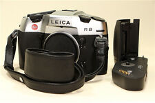 Leica R8 35mm SLR Film Camera Silver Body w/Motor Winder from Japan  #233