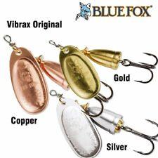 Blue Fox Original Vibrax Fishing Spinners BF, 4 g - 18 g, Three Colors