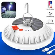 V62 120LEDs UFO lamp Lighting power Display USB Solar Charging for outside