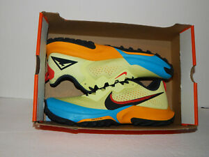 Nike Air Zoom Terra Kiger 7 Trail Shoes CW6062-300 Size 11.5 Lime Light/Off Noir
