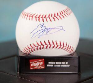 GFA Minnesota Twins BYRON BUXTON Signed Rawlings MLB Baseball COA