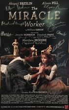 Abigail Breslin + Full Cast Signed THE MIRACLE WORKER Broadway Poster