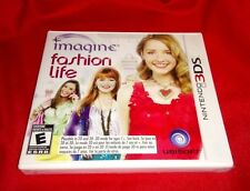 LOW PRICE! NEW Imagine Fashion Life Nintendo 3DS XL 2DS Girl Game Bilingual