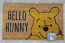 "Disney Winnie The Pooh Hello Hunny Coir Doormat 18""X30"" Outdoor Eeyore Tigger NW"