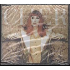 Cher Strong Enough CD 3 Track Club 69 Future Anthem Short Mix Edit and Marc Andr