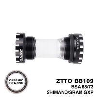 ZTTO BB109 MTB Road Bke Bottom Brackets For 22mm GXP Crankset Shimano 24mm SRAM