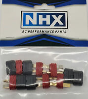 NHX Deans T Plug Adapter Connector Male 6Pcs/Bag