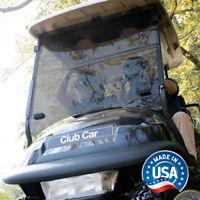 Club Car Precedent Tinted Impact Resistant Folding Golf Cart Windshield