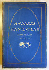 Andrees Handatlas mit Namenverzeichnis, 1924
